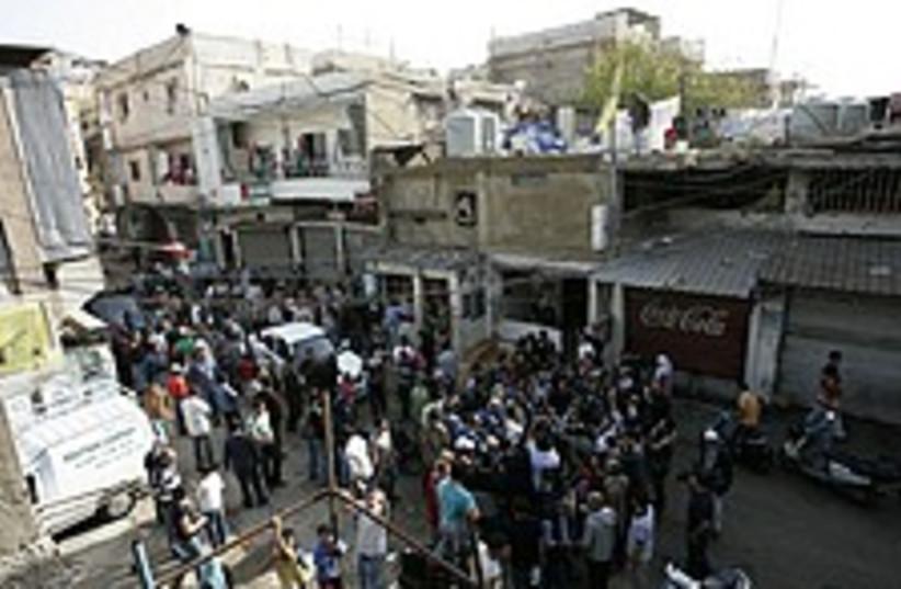 lebanon clashes, again (photo credit: AP)