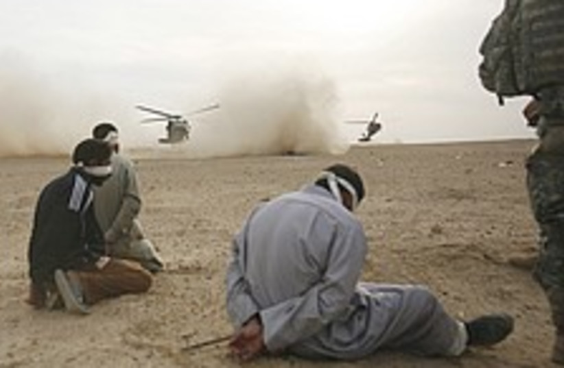 Iraq insurgents 224.88 (photo credit: AP )