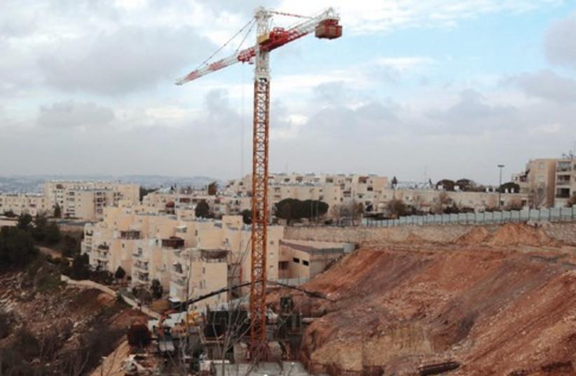Construction 521 (photo credit: REUTERS)