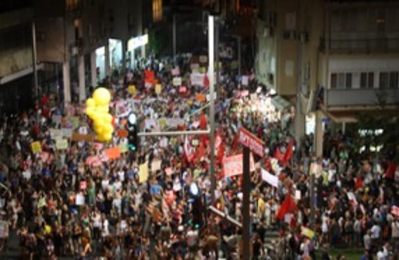 March of the Million  (photo credit: Ben Hartman)