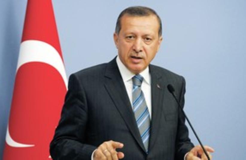 Erdogan 311 (photo credit: REUTERS)