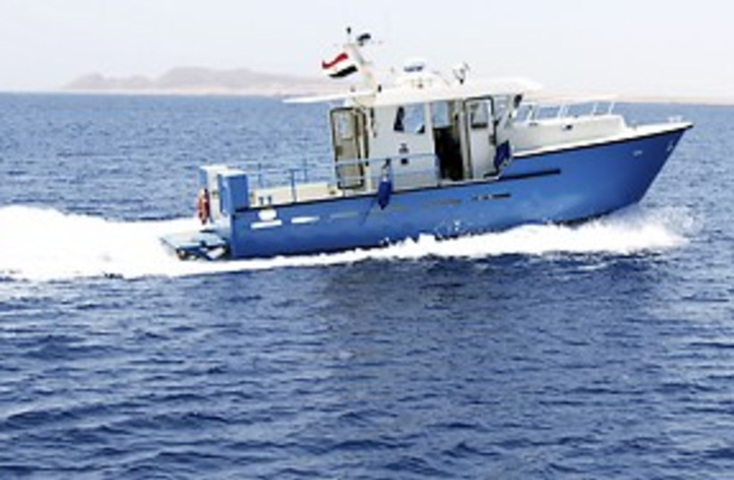 egyptian boat red sea 311 (photo credit: REUTERS)