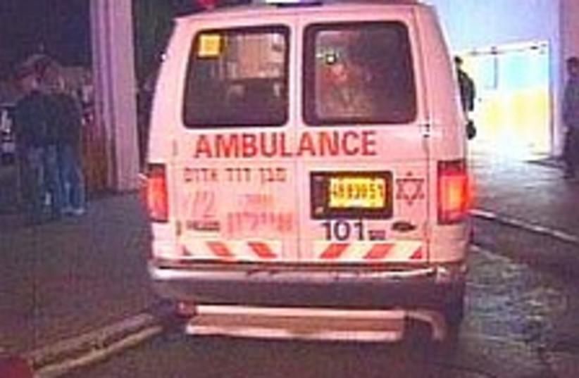 Ambulance generic 224.88 (photo credit: Channel 2)
