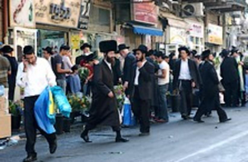 haredim meah shearim (photo credit: Ariel Jerozolimski)