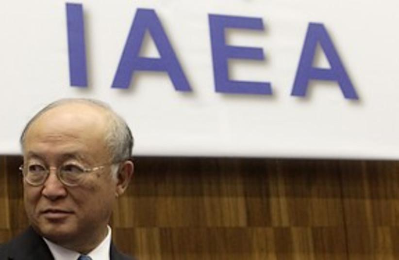 IAEA Yukiya Amano 311 (photo credit: REUTERS / Herwig Prammer)