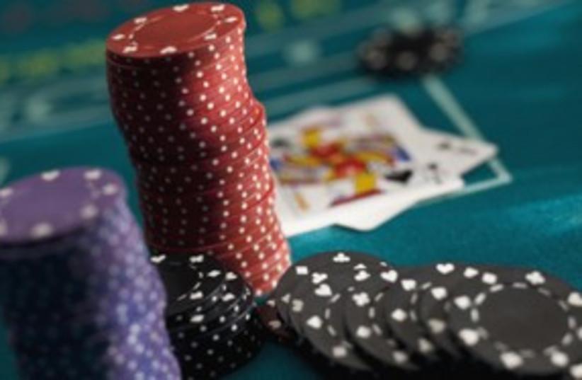 Gambling betting chips 311 (photo credit: Thinkstock/Imagebank)