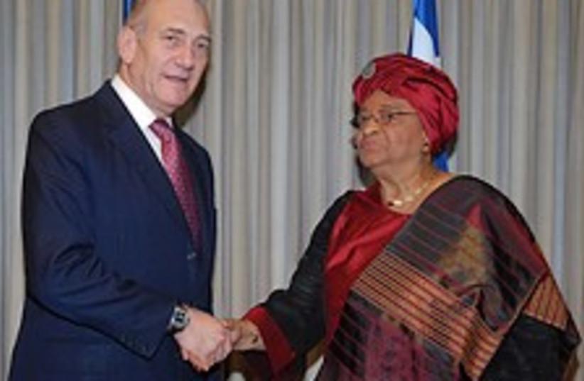 Olmert Liberia 224.88 (photo credit: GPO)