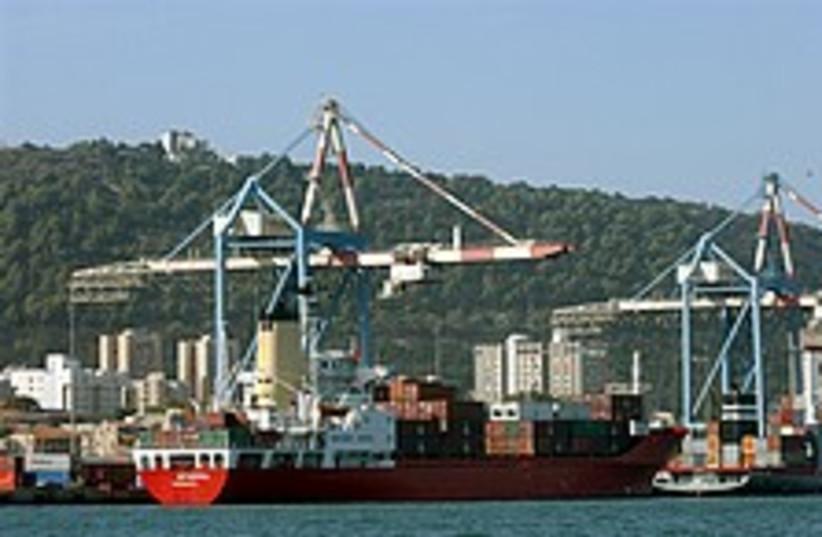Haifa Port 224.88 (photo credit: Ariel Jerozolimski)