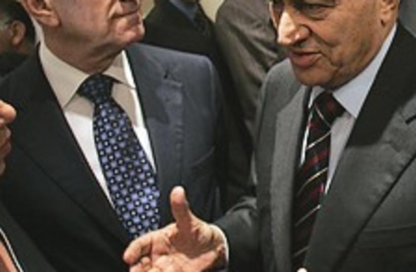 Olmert Mubarak 224.88 (photo credit: AP)