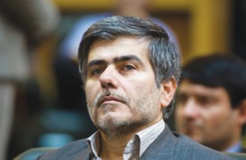 head of Iran's Atomic Energy Org. Abbasi Davani_311 (photo credit: Reuters)