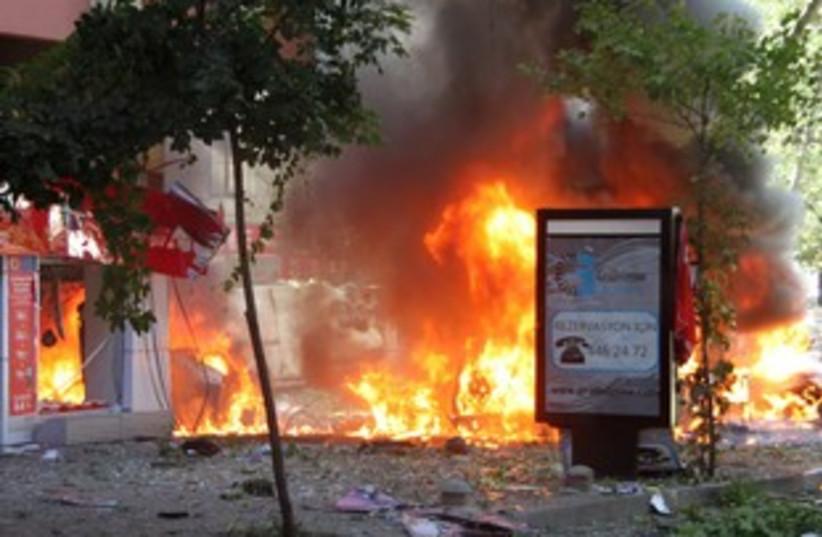 Ankara blast R 311 (photo credit: REUTERS/ Omer Kaya)