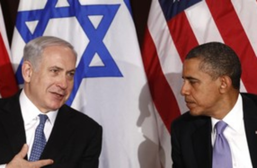 Netanyahu and Obama in New York(good)_311 (photo credit: Reuters)