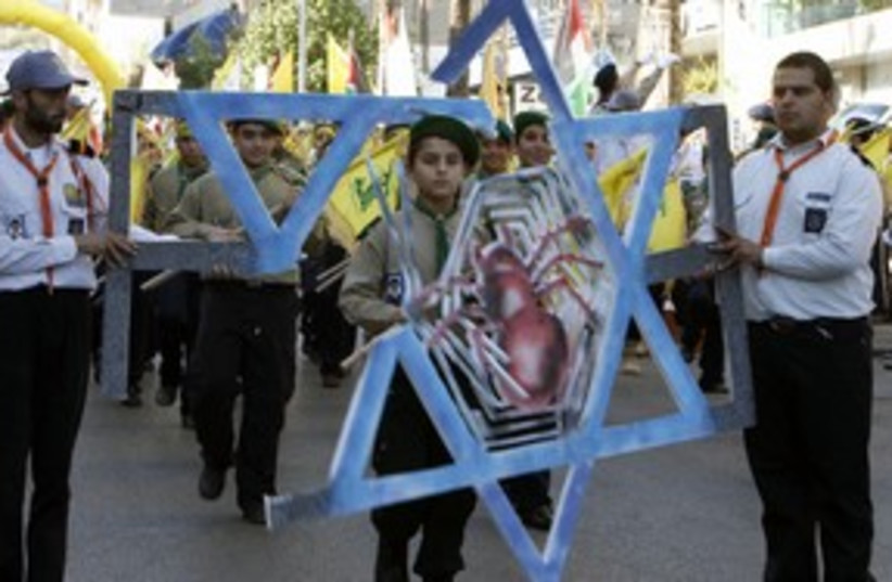 Hezbollah scouts march_311 (photo credit: Reuters)