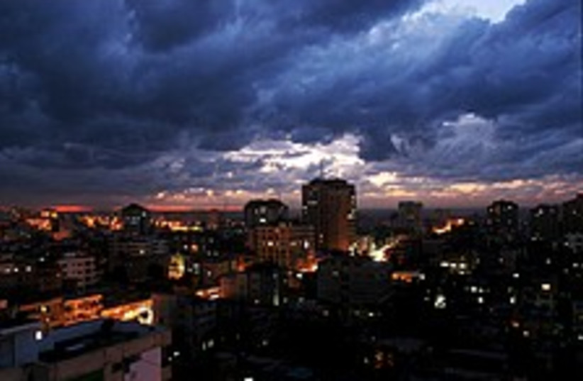 gaza city night 224 88 (photo credit: AP)