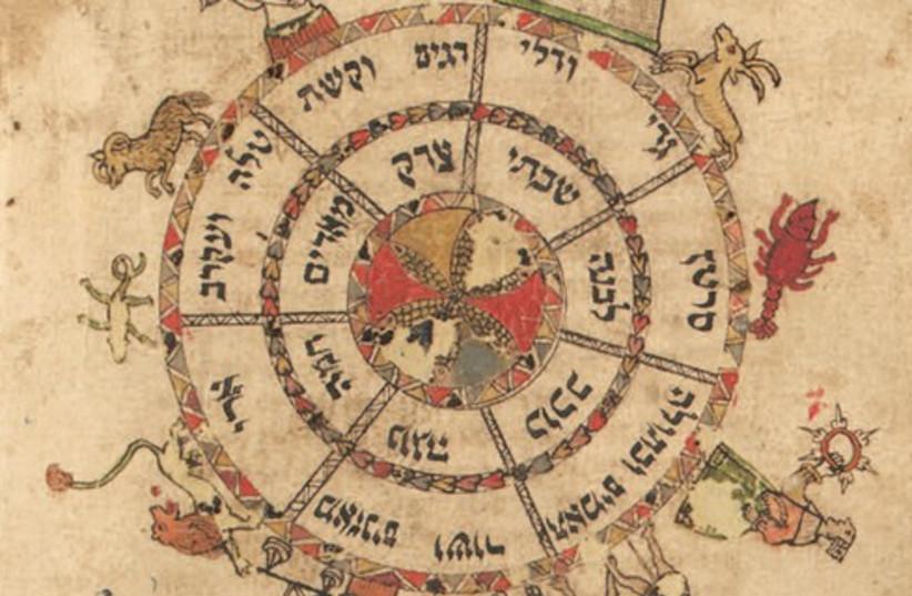 Zodiac (photo credit: Courtesy of the Klau Library Hebrew Union College)