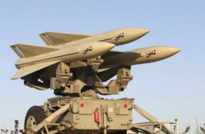 Iranian anti-aircraft missile 311 (photo credit: Reuters)