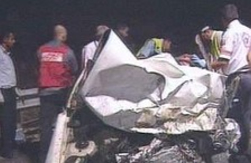 car crash 224.88 (photo credit: )