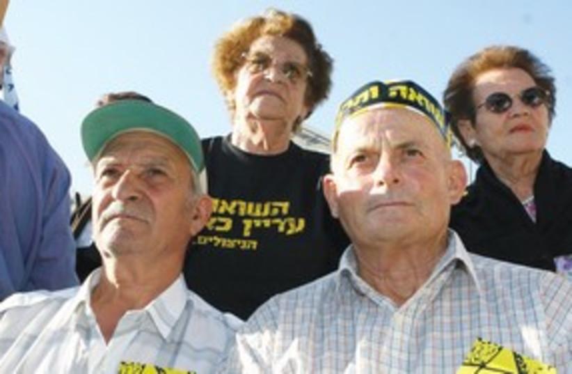 Holocaust survivors in Israel_311 (photo credit: Ariel Jerozolimski)