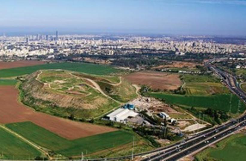 Revamped Hiriya landfill 311 (photo credit: Albatross Aerial Photography)