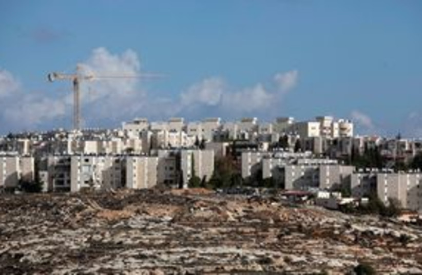 Jerusalem Gilo skyline 311 (R) (photo credit: REUTERS)