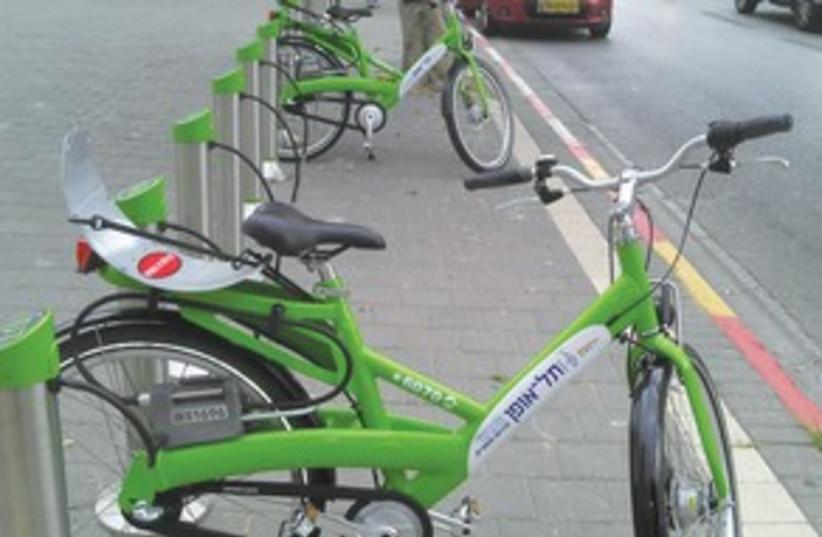 Tel Aviv Bike Rental 311 (photo credit: Ariel Jerozolimski)