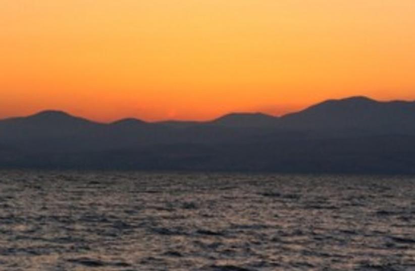 Kinneret at sunset 311 (photo credit: Joe Yudin)