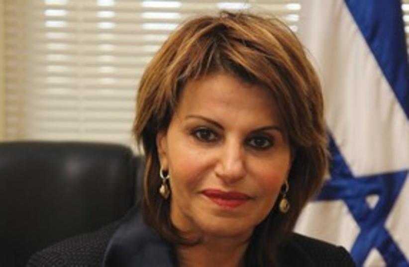 Kadima MK Dalia Itzik 311 (photo credit: Marc Israel Sellem)