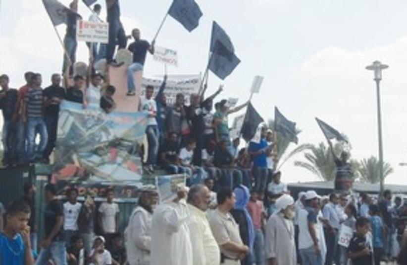 Negev Beduin Protest_311 (photo credit: Sharon Udasin)