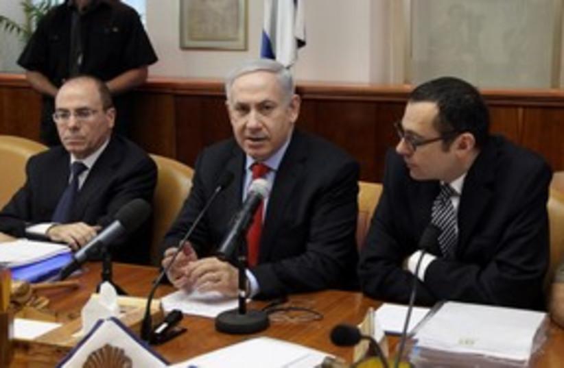 Cabinet meeting 09-10-11 (photo credit: Marc Israel Sellem)