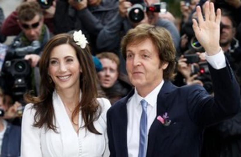 McCartney Wedding 311 (photo credit: Reuters)