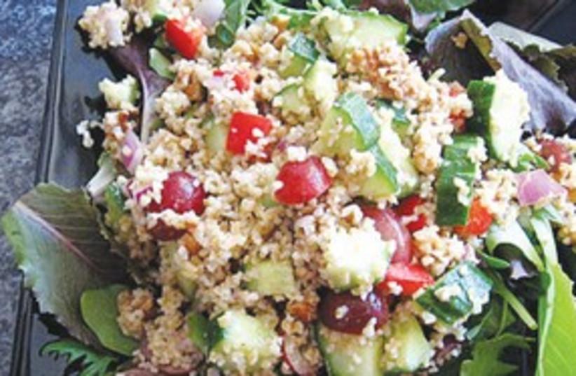 bulgur salad 311 (photo credit: Dafna Laskin)