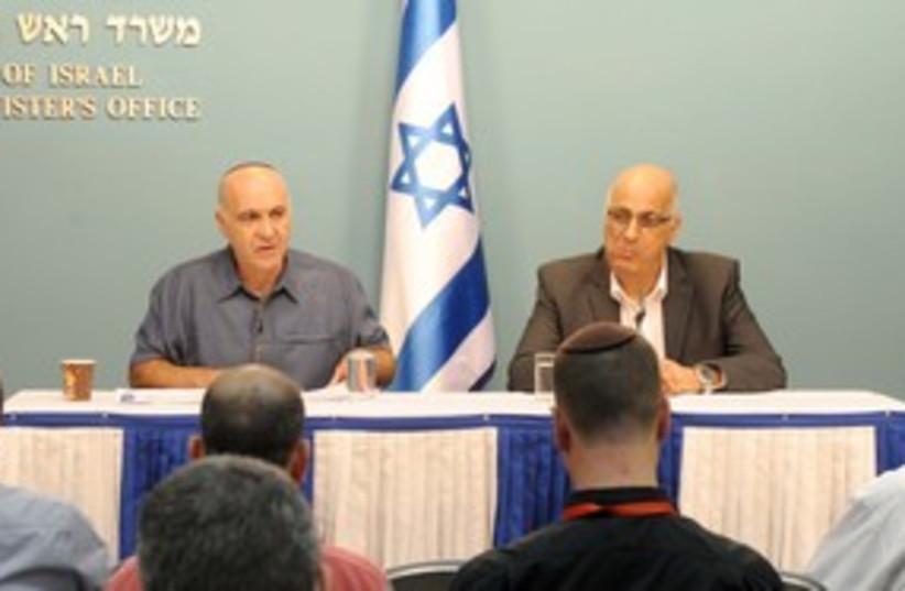 Yoram Cohen, David Meidan_311 (photo credit: GPO)