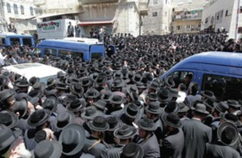 Mea Shearim 311 (photo credit: Marc Israel Sellem)