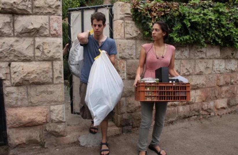 Schalits leave Jerusalem