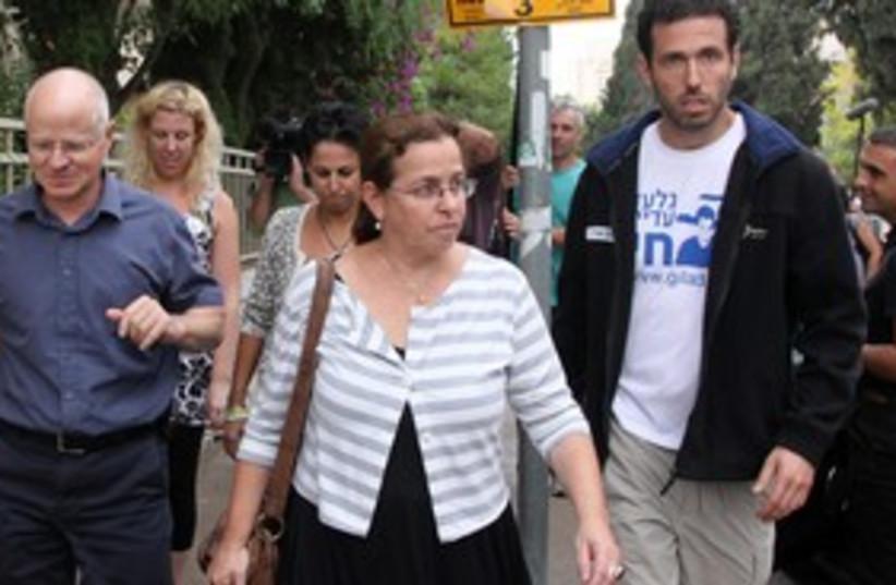 Schalits leave Jerusalem 311 (photo credit: Marc Israel Sellem)