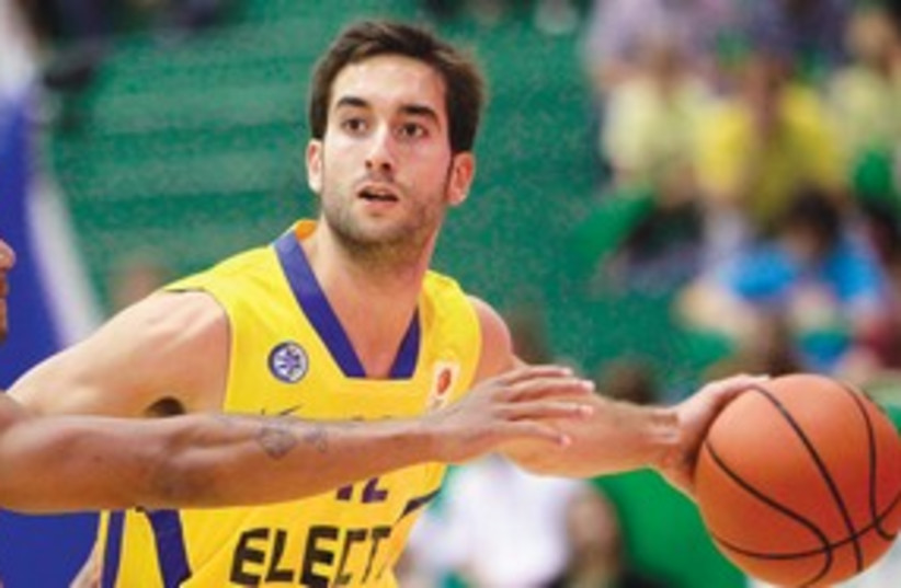 Maccabi Tel Aviv's Yogev Ohayon 311 (photo credit: Maccabi Tel Aviv website)