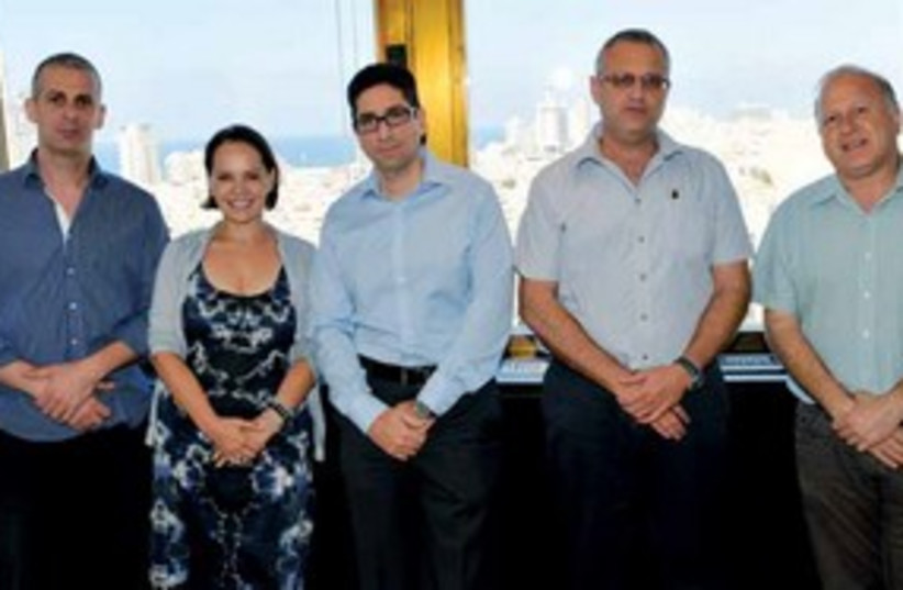 Panel of experts 311 (photo credit: Nimrod Saunders)