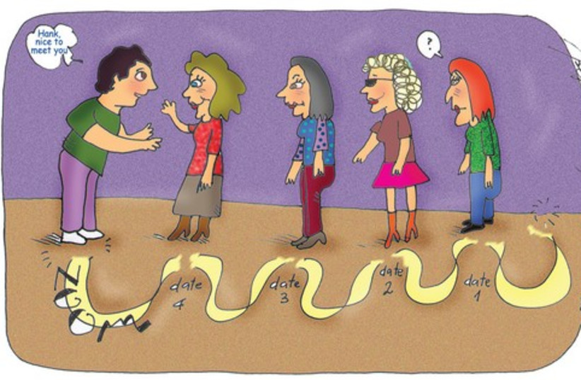Dating games (photo credit: Pepe Fainberg)