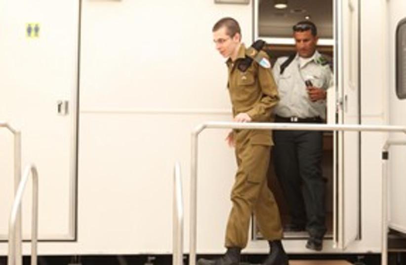 Schalit in IDF uniform 311 (photo credit: IDF spokesperson)