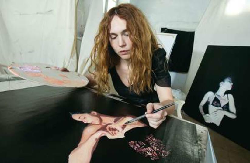 Painter Rachel Yedid 521 (photo credit: Olivier Fitoussi)