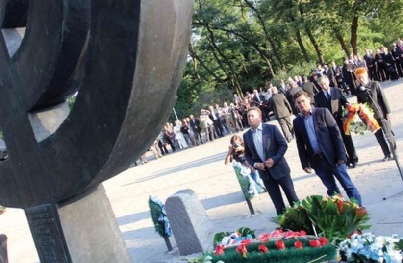 Babi Yar memorial DONT USE (photo credit: SERGEY VLADYKIU)