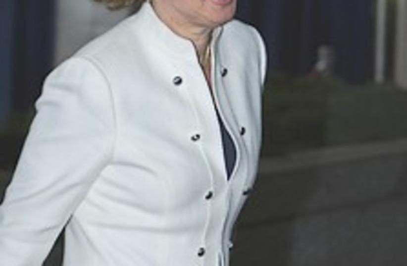 Livni graceful 224.88 (photo credit: AP [file])
