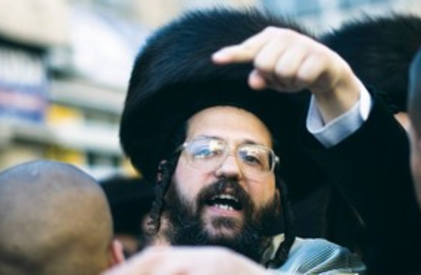 Haredi 311 (photo credit: REUTERS)