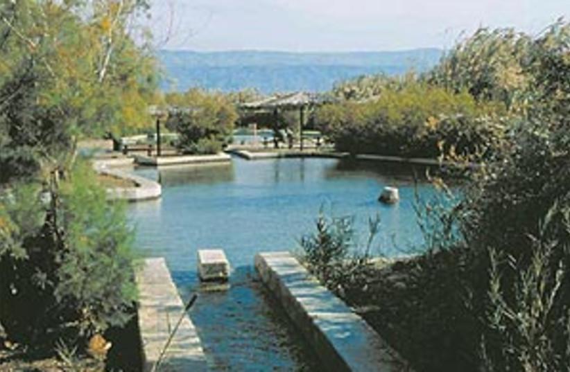 Einot Tzukim - A recovered oasis (photo credit: SHMUEL BAR-AM)