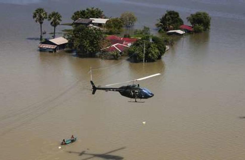 Thailand floods 521 (photo credit: REUTERS/Stringer Thailand)