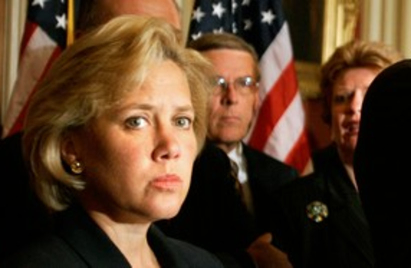 US Senator Mary Landrieu 311 (R) (photo credit: Reuters)