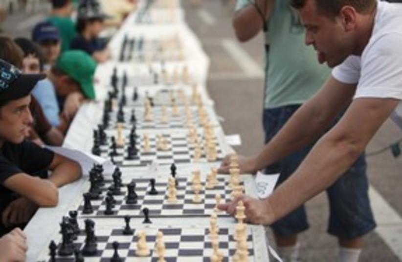 chess alik gershon (photo credit: REUTERS/Nir Elias)