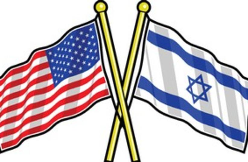 Israel US flag 311 (photo credit: Courtesy)