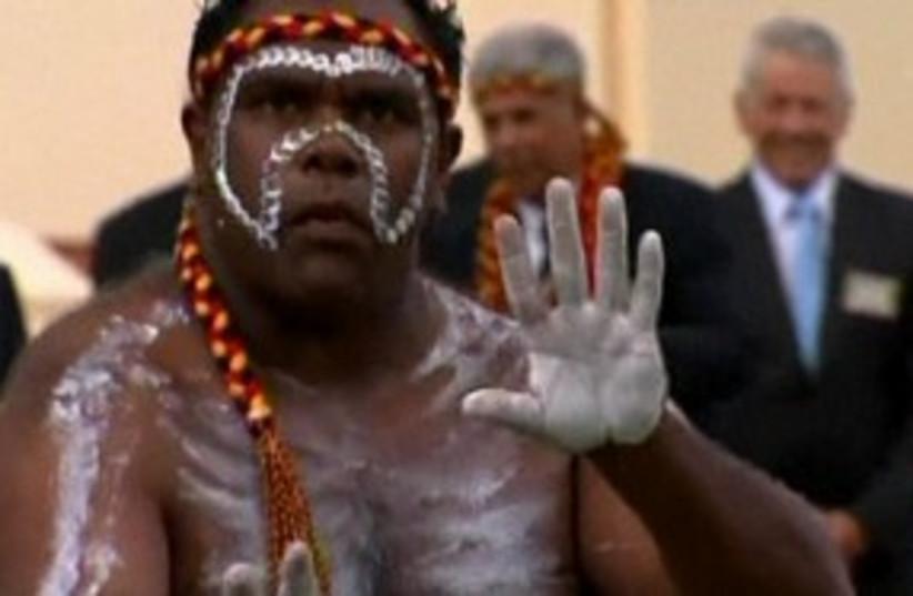Aboriginal 311 (photo credit: REUTERS)