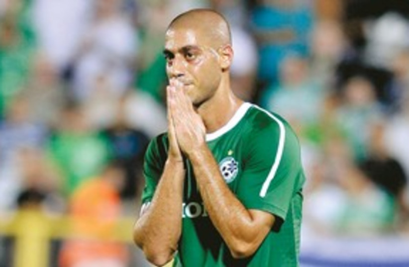 MACCABI HAIFA captain Yaniv Katan (photo credit: Adi Avishai)